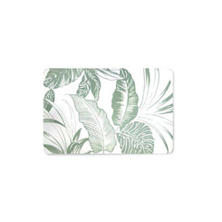 Tropical Garden Translucent Placemat Set of 4