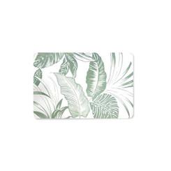 Tropical Garden Translucent Placemat Set of 4