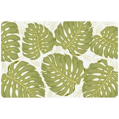 Translucent Placemat Monstera Gold Set Of 4