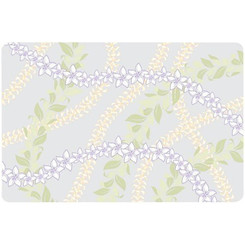 Translucent Placemat Leis Set Of 4