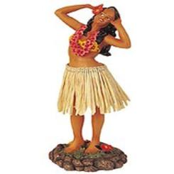 "Leilani Dashboard Hula Doll Singing Pose 7"""