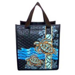 "Honu Small Insulated Tote Bag 8"" X 9"""