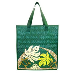 "Monstera Medium Insulated Tote Bag 10"" X 12"""