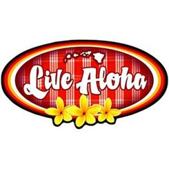 Hawaiian Decal Live Aloha