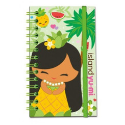 Island Yumi Notebook With Elastic Mai