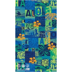 "Hawaiian Beach Towel 40"" x 70"" Natural HI Kekai"