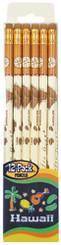 Hawaii 12 Pack Island Chain Pencils