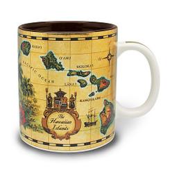 4 Pack Hawaiian Coffee Mugs 14 oz. Islands