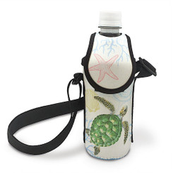 Hawaiiana Bottle Cooler With Strap Honu Voyage