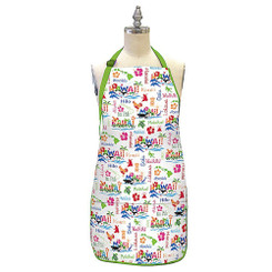 Hawaiian Style 100% Cotton Twill Fabric Apron Adventures