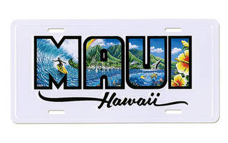 Maui Hawaii License Plate