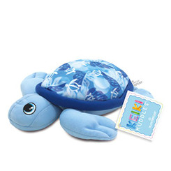 Keiki Kuddles Plush Toy Baby Honu Turtle Blue