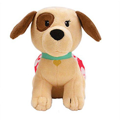 Keiki Kuddles Plush Toy Peekaboo The Poi Dog