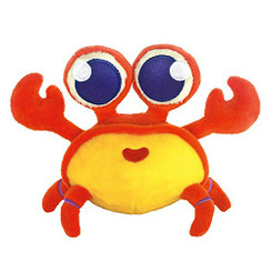 Keiki Kuddles Plush Toy Kona The Crab