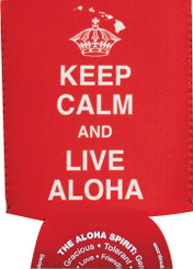 Hawaiian Can Coolie Keep Calm Live Aloha