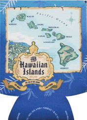 Hawaiian Can Coolie Blue Island Chain