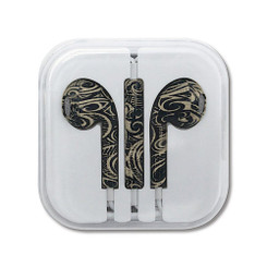 Hawaiian Style Ear Buds Tribal Tattoo