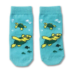 Keiki Kreations Toddler Socks One Size 12-24 Months Baby Honu Turtle