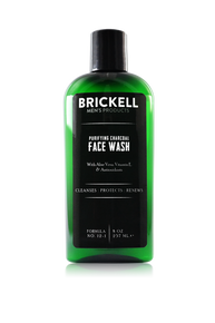 Brickell Men's Products Purifying Charcoal Face Wash (237ml) (FW134)