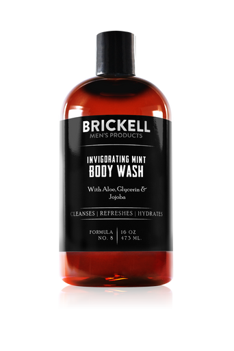 Brickell Men's Products Invigorating Mint Body Wash (437ml)