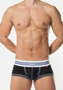 TOOT Underwear Back Slit Nano Trunk Black (NB92F252-Black)