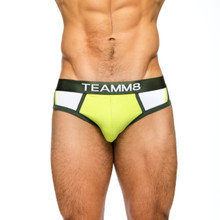 teamm8 Underwear Marathon Brief Lime (TU-MABR-Lime)