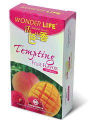 Wonder Life Tempting Fuit Flavor 12-Pack Condoms