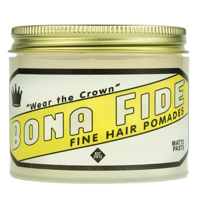 Bona Fide Matte Paste Hair Pomade (4.0 oz)