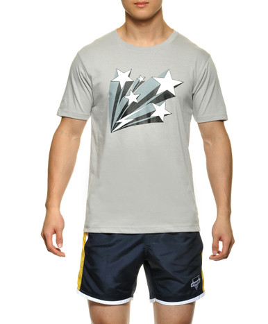 STUD Frankie Athletic Tee Heather Grey (RW632TS09)