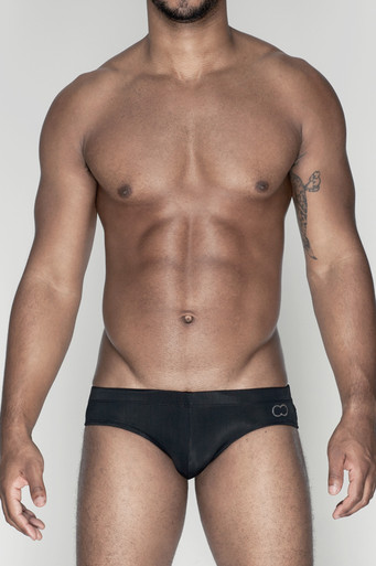 2EROS Swimwear Icon Swim Trunk Black (V10-Black)
