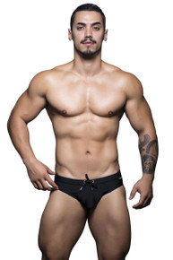 Andrew Christian Swimwear Bellport Bikini Black (7457-BLK)