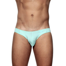 Groovin' Underwear Athletic V-Cut Bikini Brief Mint Green