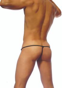 Groovin' Underwear Mesh G-String Black