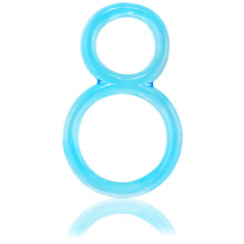 Screaming O Ofinity Double Erection Ring Blue (OFY-110-BL