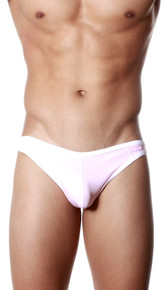 Groovin' Underwear Accent Thong Pink Front View