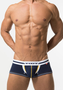 TOOT Underwear Layered Binder Boxer Trunk Navy (NB24G277-Navy)