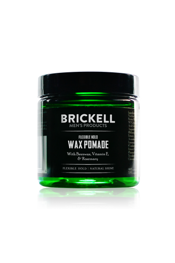 Brickell Men's Products Flexible Hold Wax Pomade (60ml)