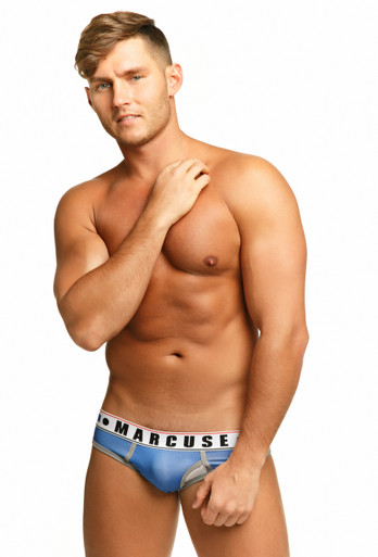 Marcuse Underwear Monument Brief Blue (Marcuse-Monument-Blue)