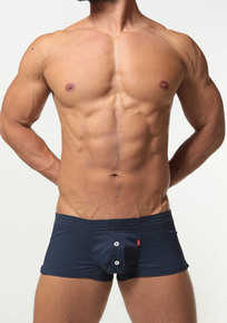 TOOT Underwear Seersucker Fit Trunks Navy (FT09H191-Navy)