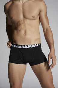 Dsquared Underwear Logo Trunk Black (DCLC90030200)