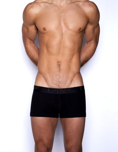 C-IN2 Underwear Core Lo No Show Army Trunk Black