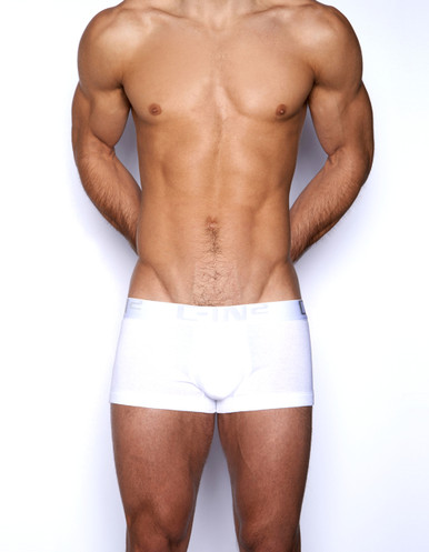 C-IN2 Underwear Core Lo No Show Army Trunk White