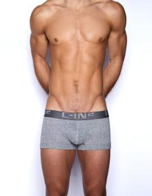 C-IN2 Underwear Core Lo No Show Army Trunk Grey Heather
