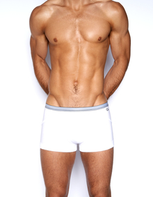 C-IN2 Underwear - Grip Lite Army Trunk White