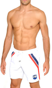 STUD Beachwear Helio Shorts White