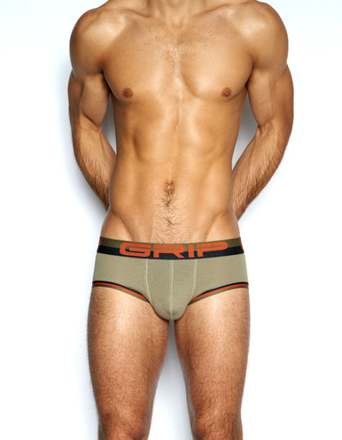 C-IN2 Underwear - Grip Mesh Punt Brief Mudder (3664-230)