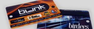 Plastic card keyrings & Flexi tags