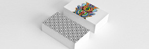 Printed Business Cards - Cardiff and Swansea - laminated