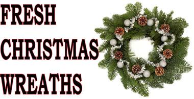 Fresh Christmas Wreathes