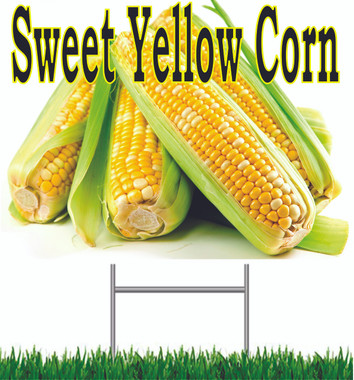 Sweet Yellow Yard Sign Nice & Bright Sign.
